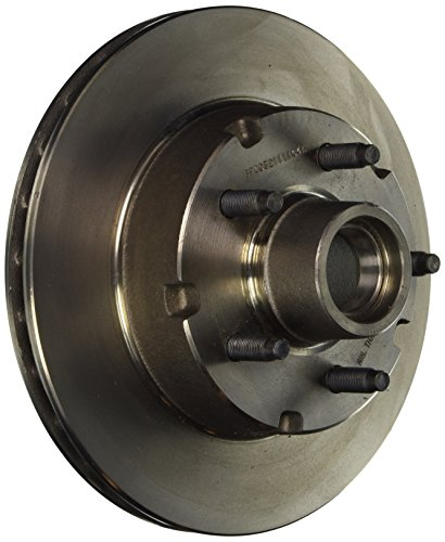 Wagner BD61911 Premium Hub and Rotor Assembly, Front