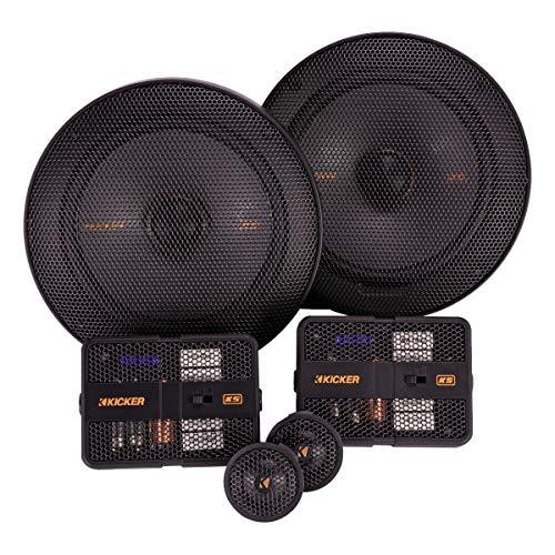 "Kicker 47KSS6504 Car Audio 6 1/2"" Component 500W Peak Speakers Pair KSS6504 New"