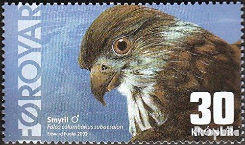 Danemark - Îles Féroé mer.-no.: 435 (complète.Edition.) 2002 Isländischer Merlin (Timbres pour Les collectionneurs) Oiseaux