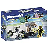 PLAYMOBIL- Techno Chameleon with Gene Playset, Multicolor (6692)