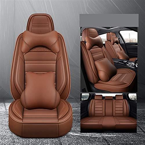XIANGSHAN Transpirable PU Asientos de Piel de coches fundas de asiento de...