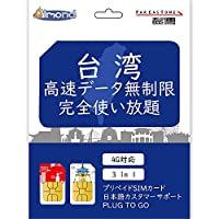 Mewfi-simcard[FAREASTONE](3日間)台湾プリペイドSIMカード 高速データ通信無制限使い放題