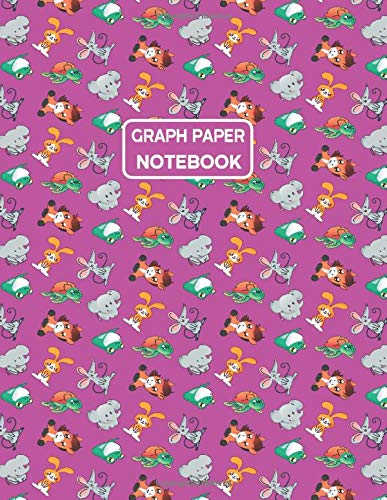 Graph Paper Notebook: Quad Rule - 4 Squares Per Inch (110 Pages) - (8.5