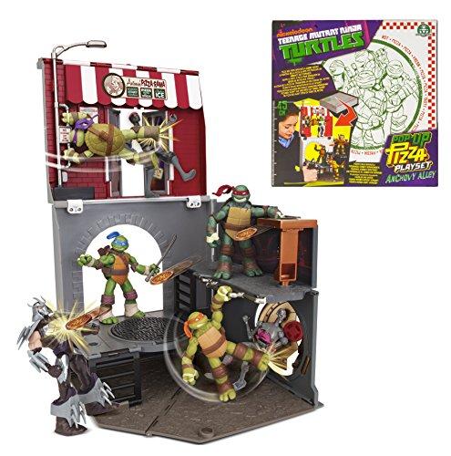 Schildpadden Teenage Mutant Ninja Turtles Pop-Up Pizza Speelset Ansjovis Alley