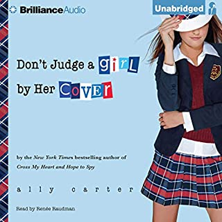 Don't Judge a Girl by Her Cover audiobook cover art