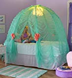 Light-Up Under-The-Sea Bed Tent Imaginative Indoor Play Space Fits Over Twin Mattress and Includes Glittering Sea Urchin Lights