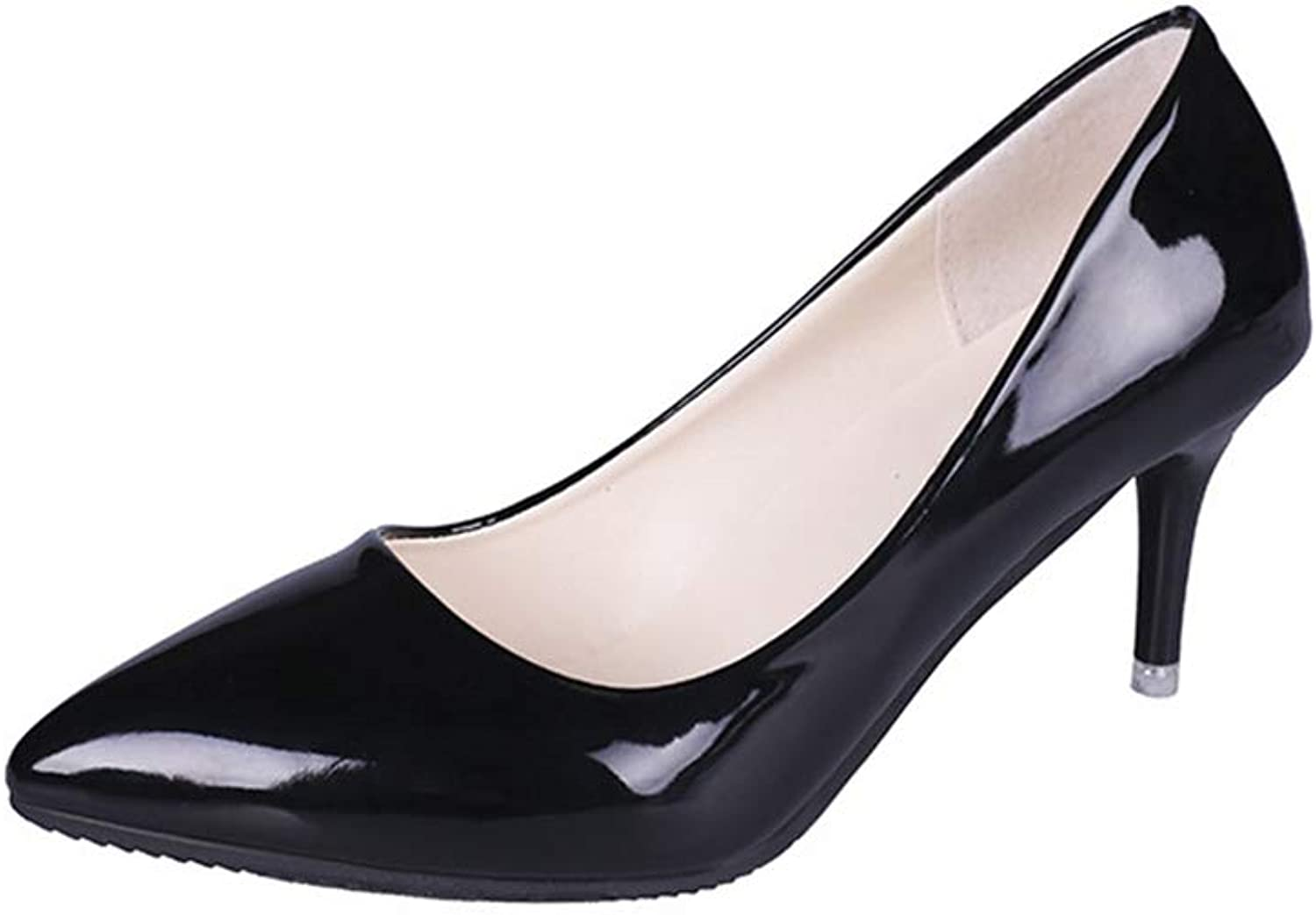 Sam Carle Women's Pump,Solid color Spring Fashion Classic Professional Work shoes