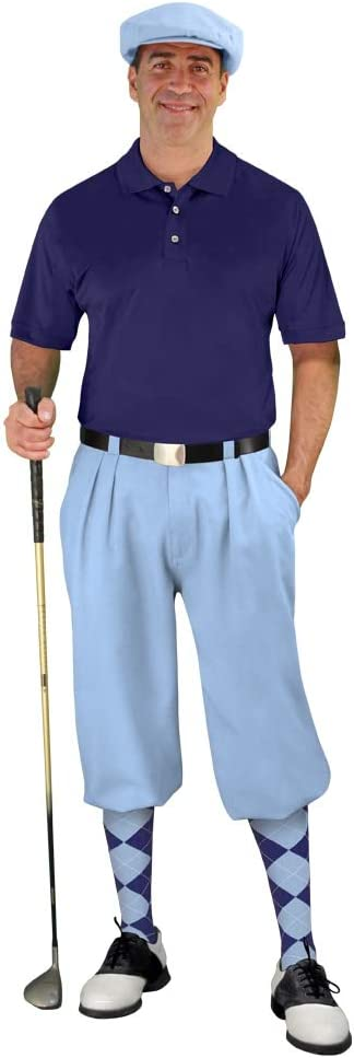Golf Knickers Mens Start-in-Style Light Max 45% OFF Blue Outfit Trust -
