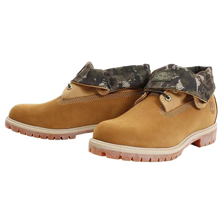 数学者期待してシェルメンズ ブーツ ロールトップ ウィートヌバック A21B1 PREMIUM rolltop boot 迷彩 正規品