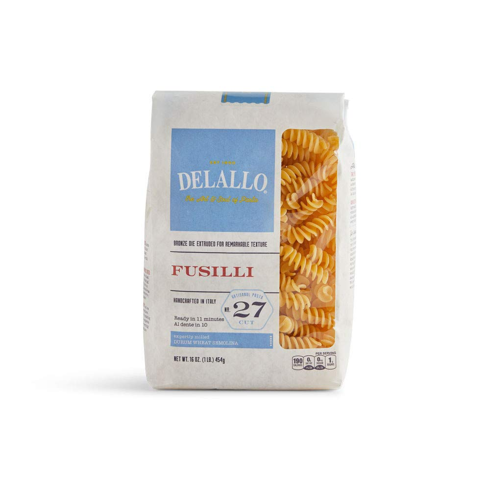 Credence DeLallo Fusilli Cheap sale Bag Pack 1-pounds of8