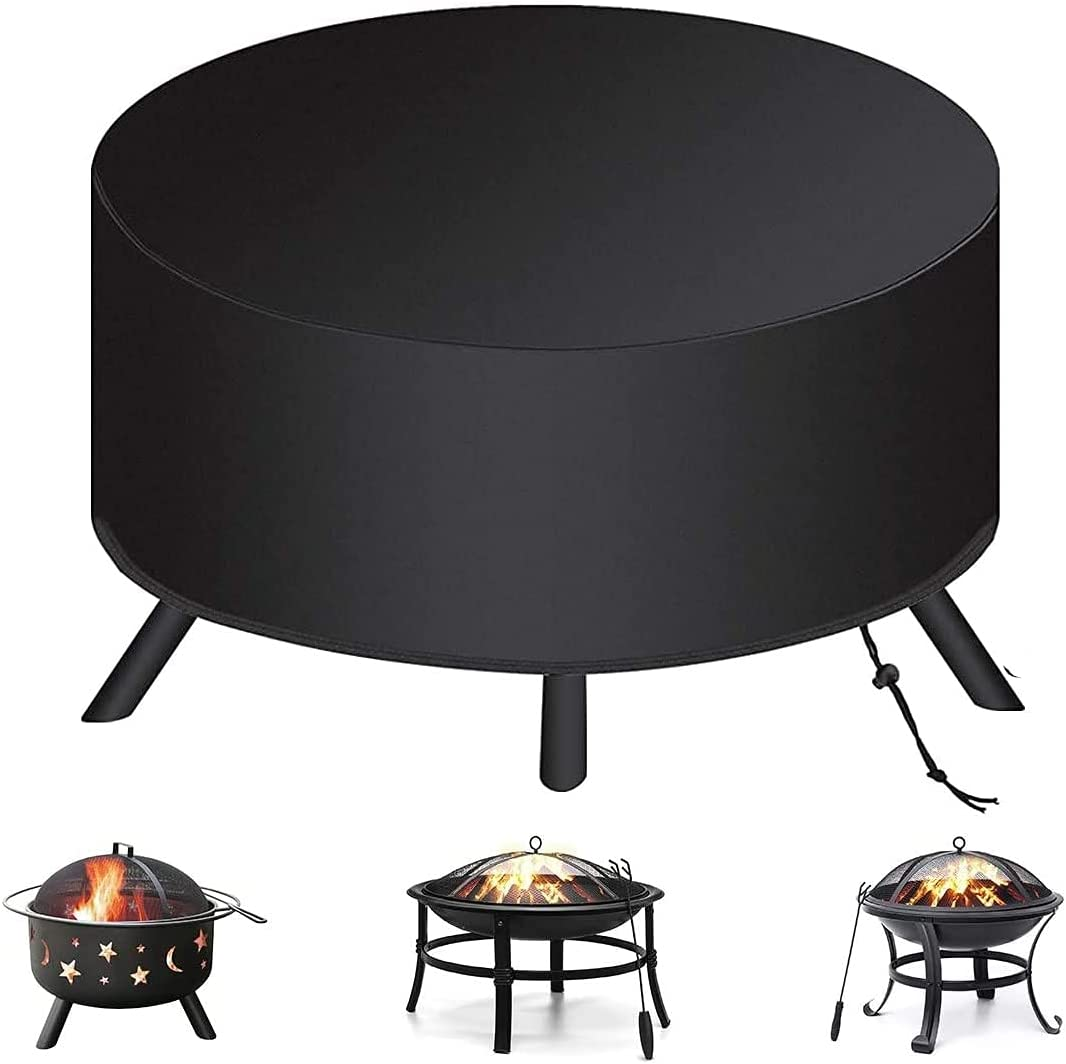 Hottly trust Fire gift Pit Cover for Size 34 Heavy - 22 inch