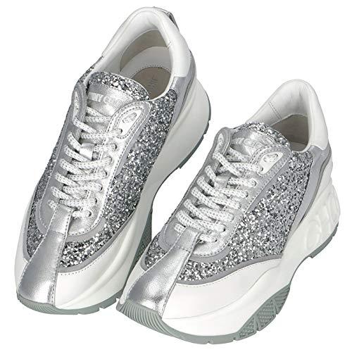 [ジミーチュウ] RAINE グリッター カーフレザー スニーカー レディース シューズ 靴 スニーカー RAINE CGC 0215 [並行輸入品]
