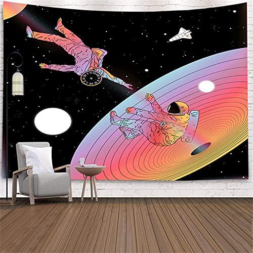 YYRAIN Tapiz del Espacio Exterior De Ciencia Ficción Impreso En Poliéster 3D, Adecuado para Tapices De Pared De Fondo De Sala De Estar 78x59 Inch {200x150cm}