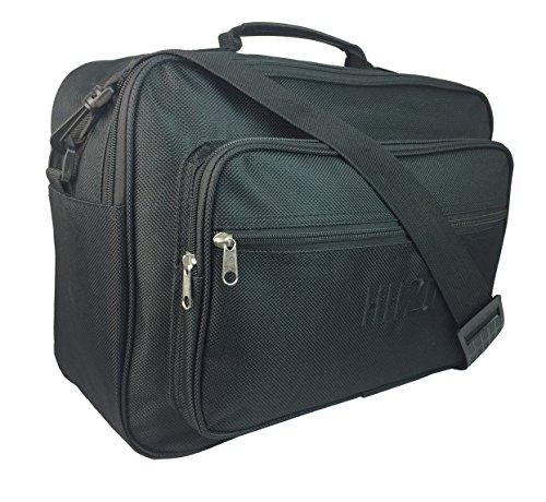 Mens Small Hand Luggage Bag, Colour : Black