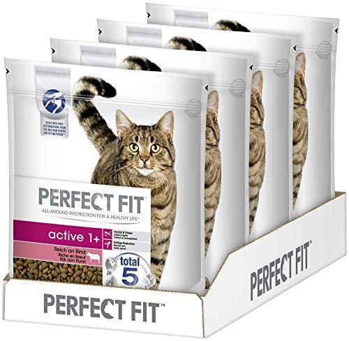Perfect Fit Active 1+ – Trockenfutter für erwachsene, aktive Katzen ab 1 Jahr –...