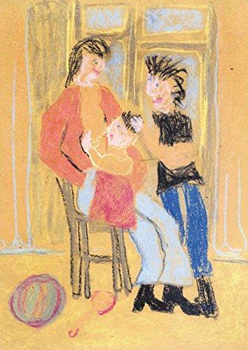 【DXポスター】子供地球基金のアートポスター わたしの家族 人物 インテリア 壁飾り P-A1-KEF-E-09-0000 P-A1-KEF-E-09-0000