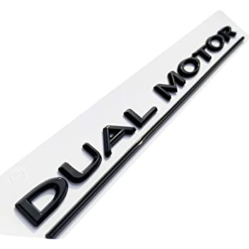 Letters Emblem Car Styling Refitting High Performance Trunk Logo Sticker Chrome Black Red for Tesla Model 3 Model S Model X