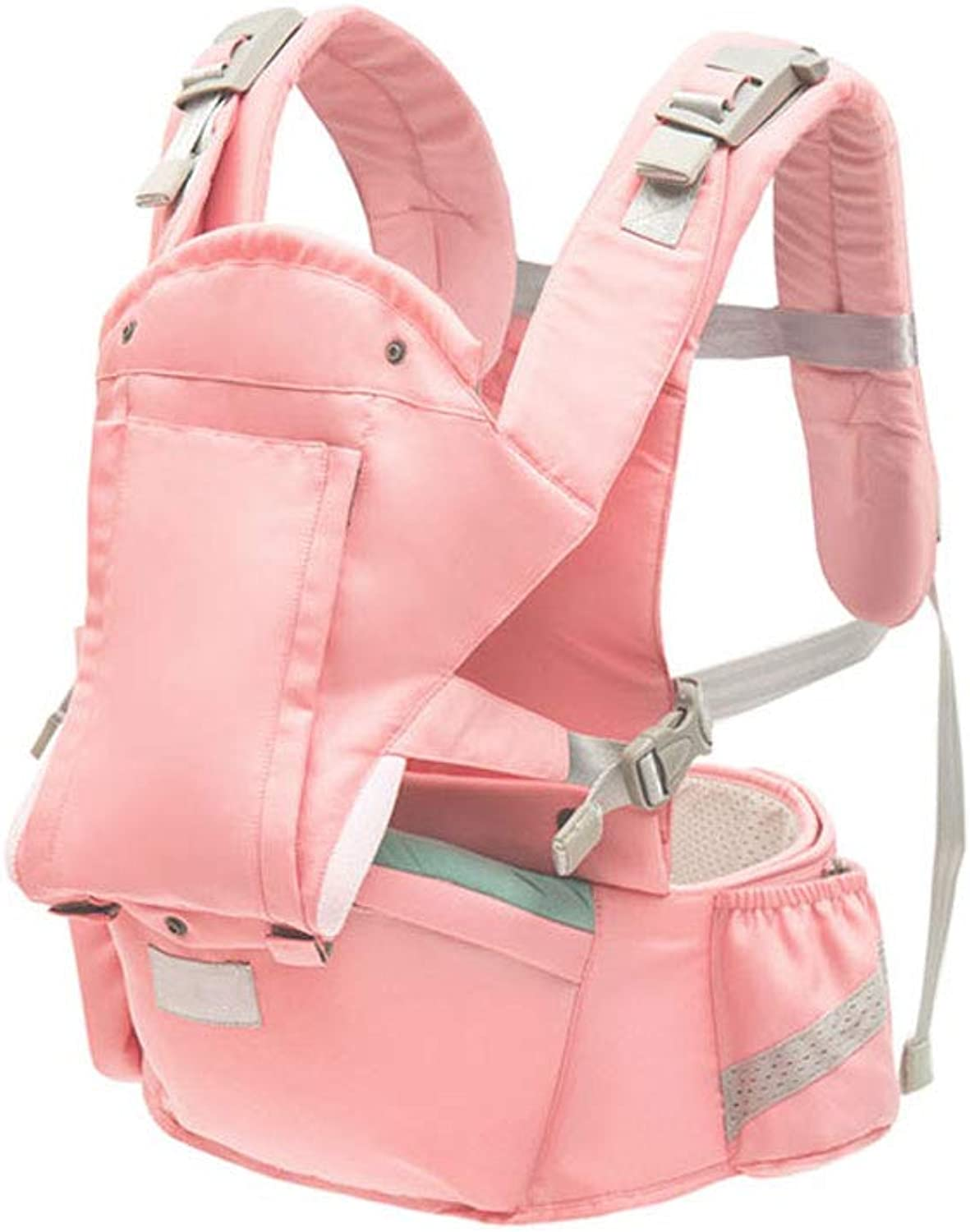 Hipseat for Newborn and Prevent O-Type Legs Style Loading Bear 20Kg Ergonomic Baby Carriers Kid Sling (color   Pink)