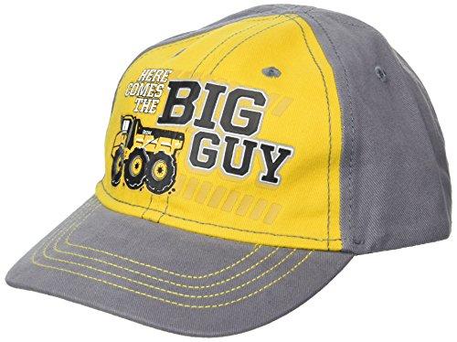 John Deere Boys' Toddler Baseball Cap, Grey/Yellow