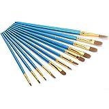 Juego de pinceles de gouache Varios pinceles de pintura de tinta Excelentes pinceles de nailon para pintar