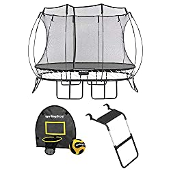 Springless Trampolines with Safety Enclosure