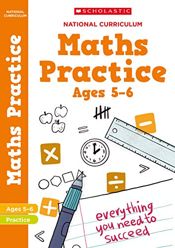 100 Maths Practice Activities for children ages 5-6 (Year 1). Perfect for Home Learning. (100 Practice Activities)