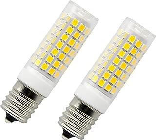 E17 LED Bulb Dimmable,Appliance Bulb,Over Counter Microwave Oven Light,Stovetop Light,75W Halogen Bulb Equivalent, E17 Microwave Oven Appliance Light Bulbs (Daylight White 6000k)