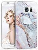 Galaxy S7 Case, Imikoko™ S7 Marble Case Slim Anti-Scratch