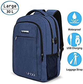 How.R.U - Laptop Backpack for Men/Women (Blue)