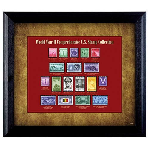 Price comparison product image American Coin Treasures World War II Stamp Framed Collection