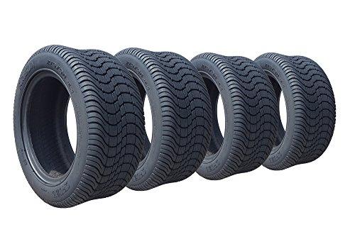 """Arisun 215/50-12 """"Cruze"""" DOT Low Profile Tires for EZGO, Club Car, Yamaha Golf Carts (1, set of 2, or set of 4) (215/50-12, Set of 4 Tires)"""