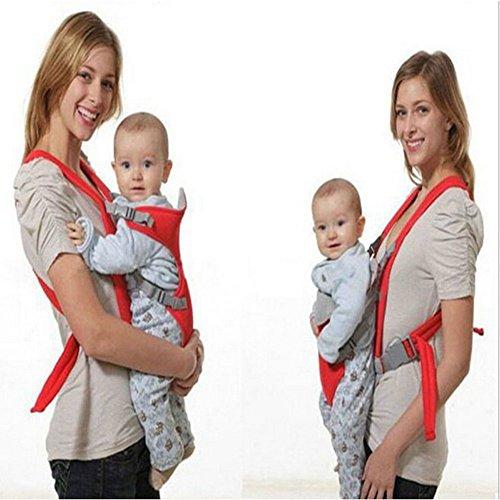 ZUMUii Butterme Porteur de bébé Ultralight 3-en-1, Soutien avancé à Dos croisé avec Rembourrage détachable et Rembourrage Coussin Pendant 2 Mois + bébé