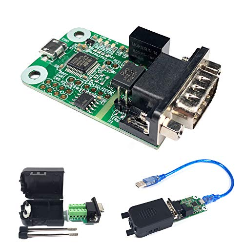 USB to CAN Converter Module for Raspberry Pi4/Pi3B+/Pi3/Pi Zero(W)/Jetson Nano/Tinker Board and Any Single Board Computer Support Windows Linux and Mac OS