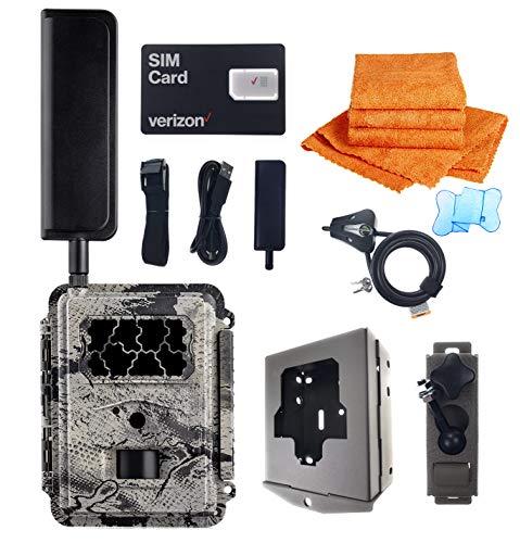 Spartan HD GoCam Verizon 4G Blackout Infrared with UTowels Edgeless Microfiber Towels, Trail Camera