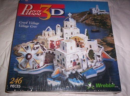 Puzz3D Greek Village by Wrebbit