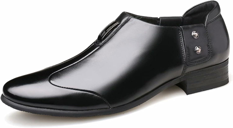 FeiZhi Men's Dress Shoes Oxford Formal Leather Shoes for Men Formal Modern Oxford Dress Shoes