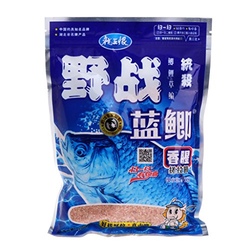 ULKEME300G Natural Fishing Bait Powder Carp Crucian Killer Fish Tackle Food Accessory