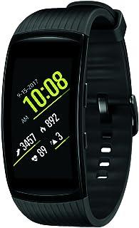 Samsung Gear Fit2 Pro Smart Fitness Band (Small), Liquid Black, SM-R365NZKNXAR - US Version with Warranty