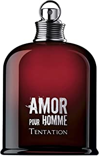 Amor Pour Homme Tentation by Cacharel for Men - Eau de Toilette, 125ml