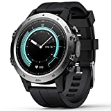 Smart Watch for Android iOS,Fitness Tracker with Blood Pressure Heart Rate Blood Oxygen Monitor,Pedometer,Watches for Men Women,Sleep Tracker,Call Messages Reminder,IP68 Waterproof, Full-Touch Screen