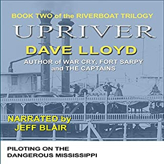 Upriver audiobook cover art