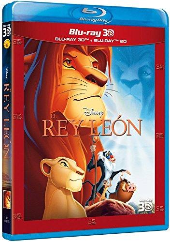 El Rey León (3D + 2D) [Blu-ray]