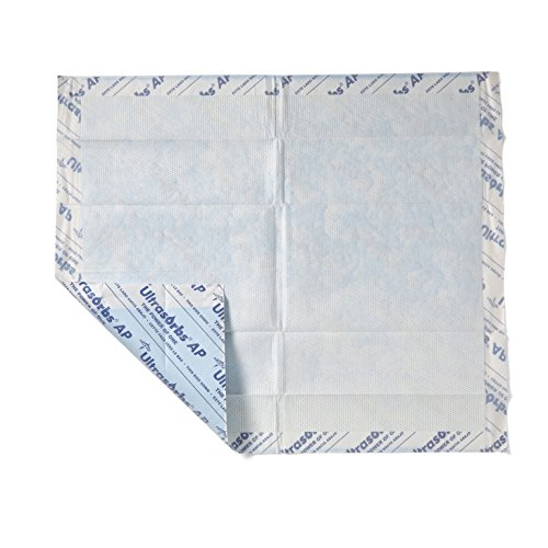 Medline - ULTRASORB3136 Ultrasorbs AP Drypads, Super Absorbent Disposable Underpad, 30 x 36 inches, 10 Count (Pack of 4), Great for use as Bed pad Protector, Furniture Protection, Incontinence Care