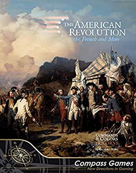 CPS  The French & More Kit for The American Revolution aka Commands & Colors Tricorne Boardgame Series