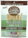 Earth Animal No Hide Pork Chews Stix Dog Treats 10 Pieces