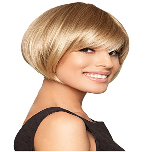 Longlove Lolita Fashion Wig Ms. Oblique Bangs Volume jiafa Wig (SW0122)