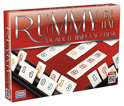 Falomir Deluxe Rummy Luxe Mesa. Juego Clásico