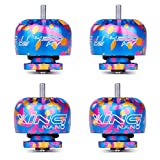 iFlight 4pcs XING Nano 1105 4500KV 2-4S Micro Brushless Motor for FPV Whoop Drone Frame Micro Quadcopter Unibell