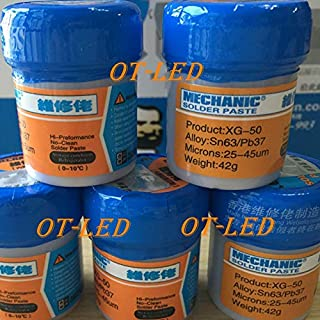 TOLOVI New Arrival 2PCS/Lot bga Mechanic Solder Flux Paste Soldering Tin Cream Sn63/