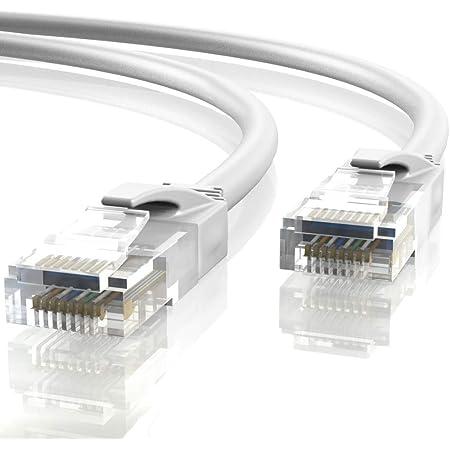 Mr Tronic 5m Ethernet Netzwerk Netzwerkkabel Computer Zubehör